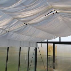 Schattentuch für Supra-Gewächshäuser